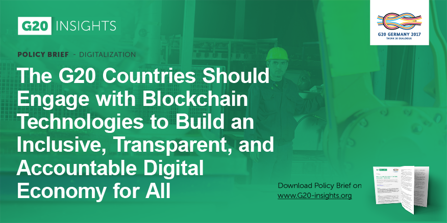 The g20 countries should engage with blockchain technologies to the g20 countries should engage with blockchain technologies to build an inclusive transparent and accountable digital economy for all malvernweather Images